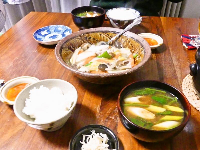 白菜の中華風うま煮 献立