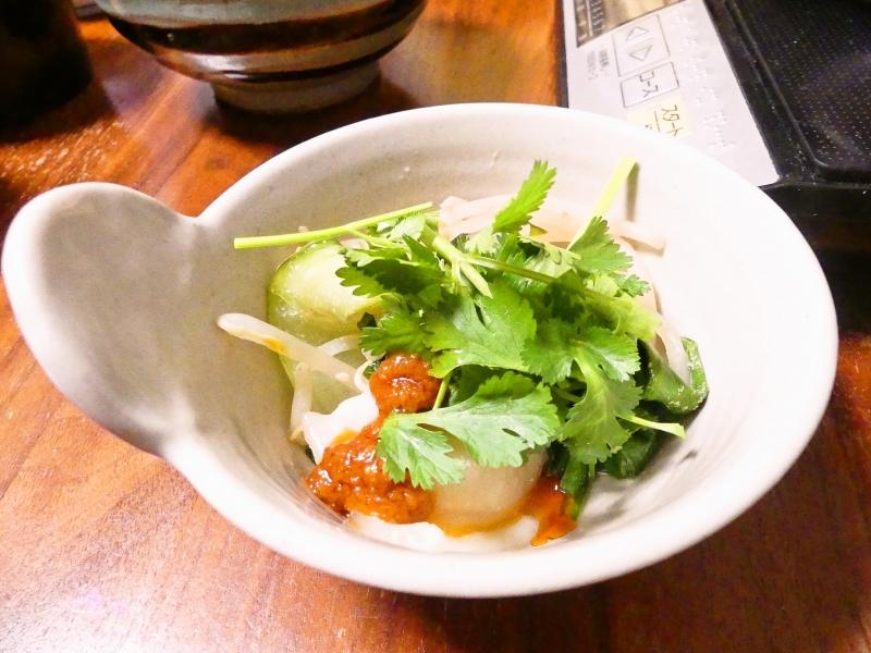 パクチー水餃子鍋