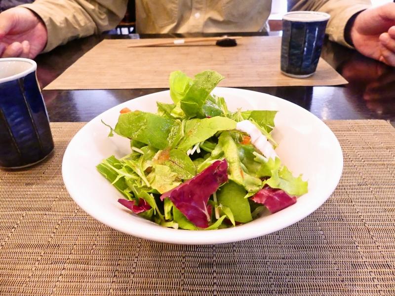 若菜館 サラダ