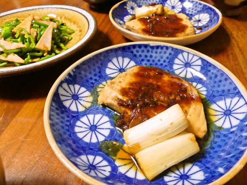 メカジキ 味噌煮