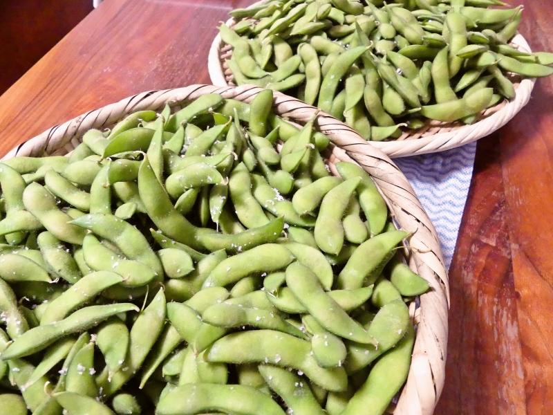 枝豆いっぱい
