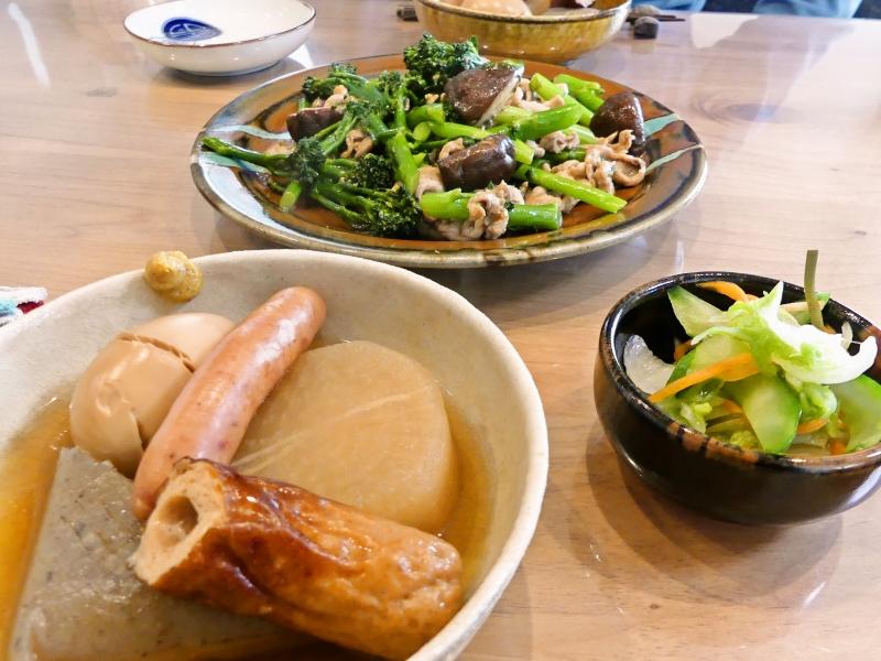 ブロッコリーと椎茸の炒め物 献立