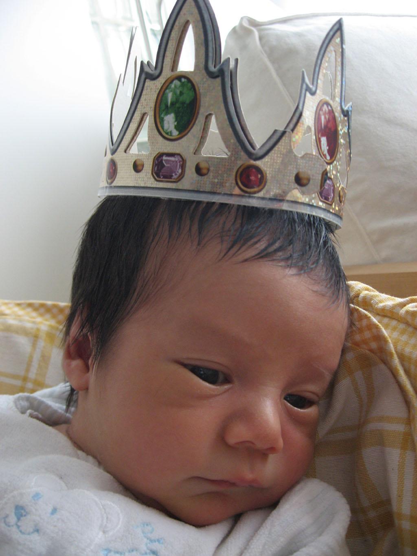 クラウンが輝く小さな王子様
