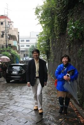 市長と歩く
