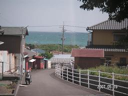 羽衣神社からの風景