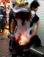 燃える人(サンプル)