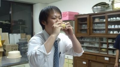 ゆうきクン食べる!