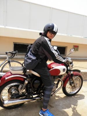 たかひろくんバイクスタイル