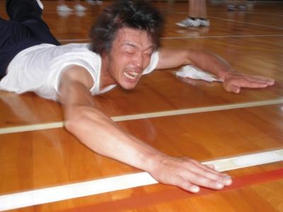 ゆーたろくんのスーパーレシーブ(練習)