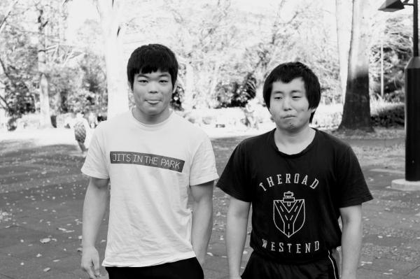 『シングルXからストレートフットロック』岩本健汰の公園柔術