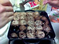 ココア風味麦チョコ焼き