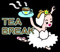 LINEスタンプ:Tea break