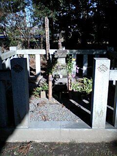 大井夫人のお墓