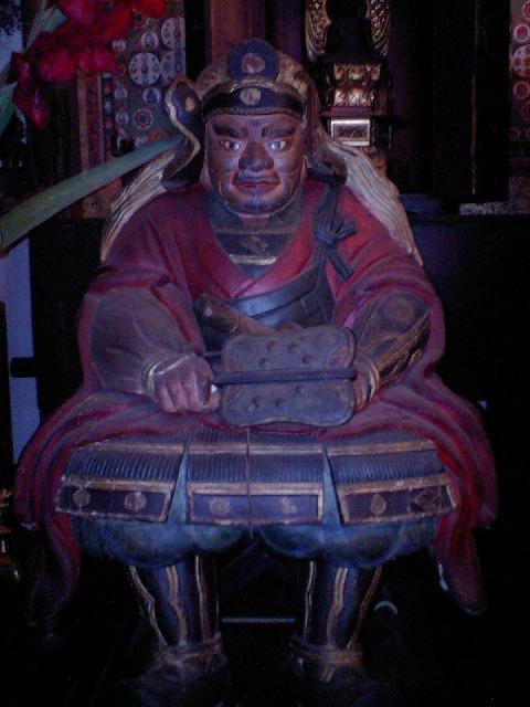 法善寺の武田信玄像