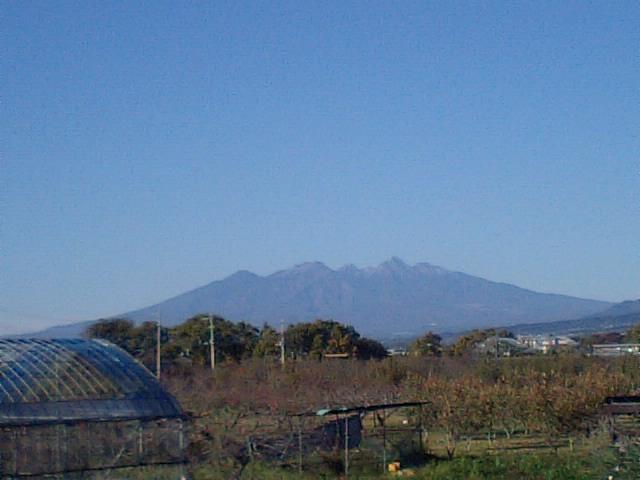 農園からの八ヶ岳