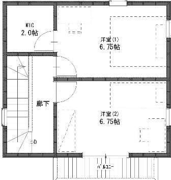 2階建てプラン