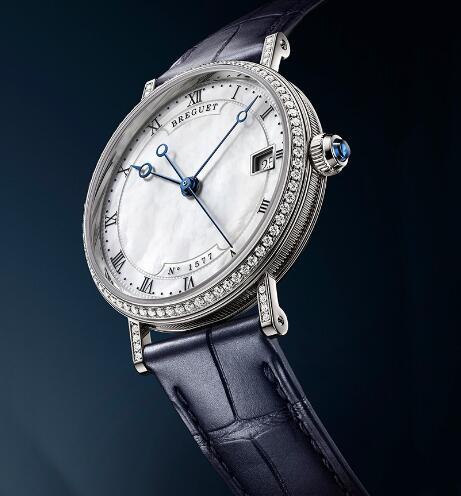 big sale 24bf5 060ad ブレゲ時計コピーCLASSIQUEクラシックシリーズ9068真珠層の手首 ...