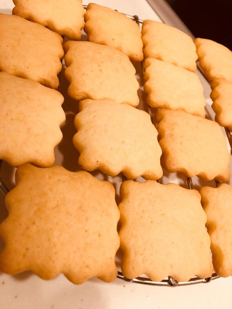 抜き レシピ 型 クッキー