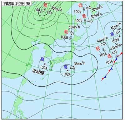 180326天気図