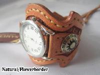 レザーウォッチ(腕時計)