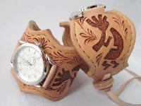 レザーウォッチ(腕時計)ココペリ