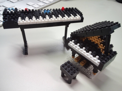nanoblock(ナノブロック)グランドピアノ