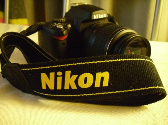 Nikonのストラップ