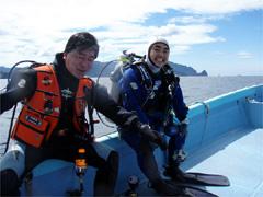 田子でダイビング|2008/04/20