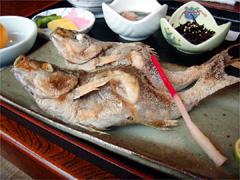 焼き魚定食(イサギ)|西伊豆|魚武
