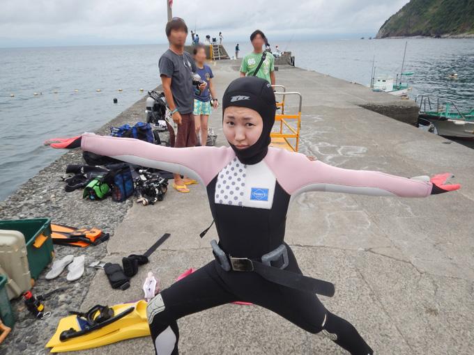 2017/07/23|井田でダイビング
