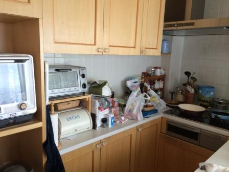 キッチン収納のコツ!端材で簡単な棚作り!