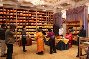モンゴル国立図書館90周年展示室