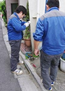 水道管調査