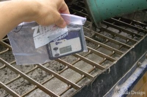 コンクリートの放射能測定