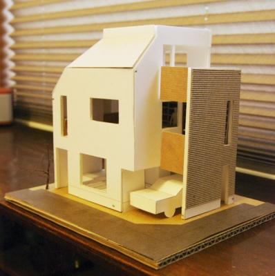 House in Libraryr模型