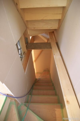 複雑な階段