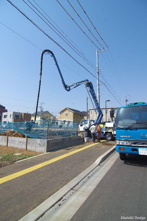 Hokuou House 基礎工事