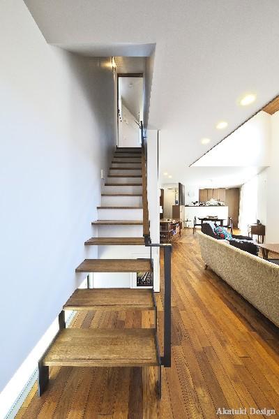 北欧ハウス階段