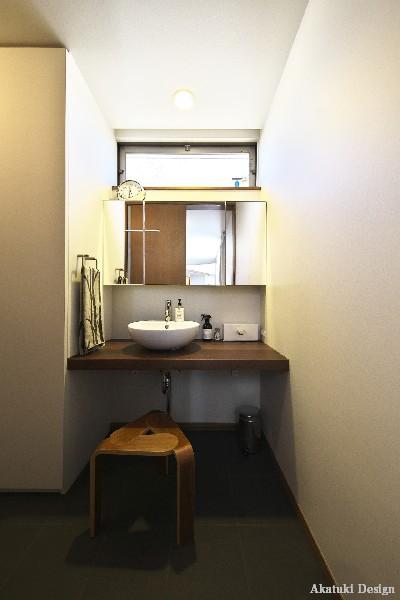 北欧ハウス洗面所