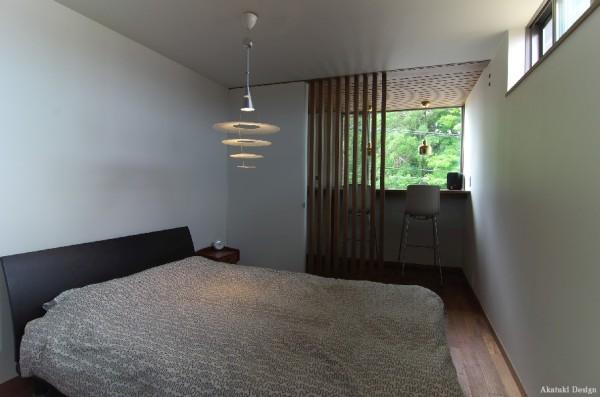 北欧ハウス寝室