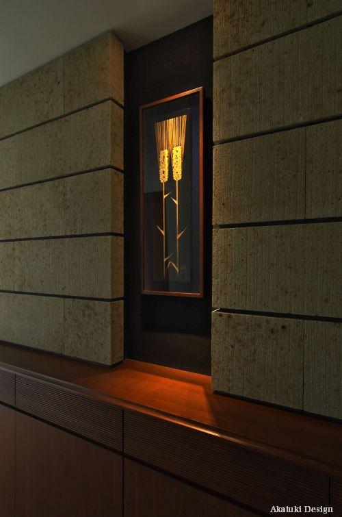絵画が映える玄関