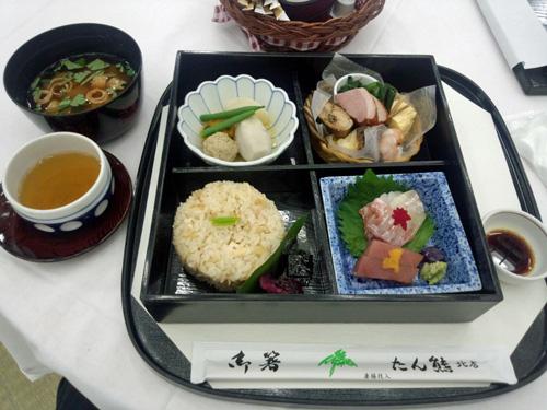 京都のお昼弁当