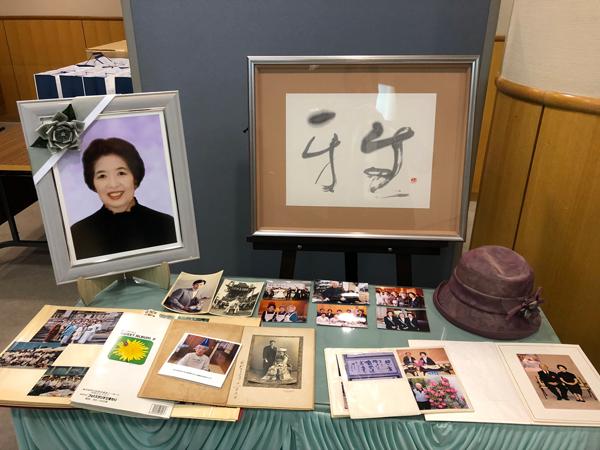 白井暁子さま葬儀写真