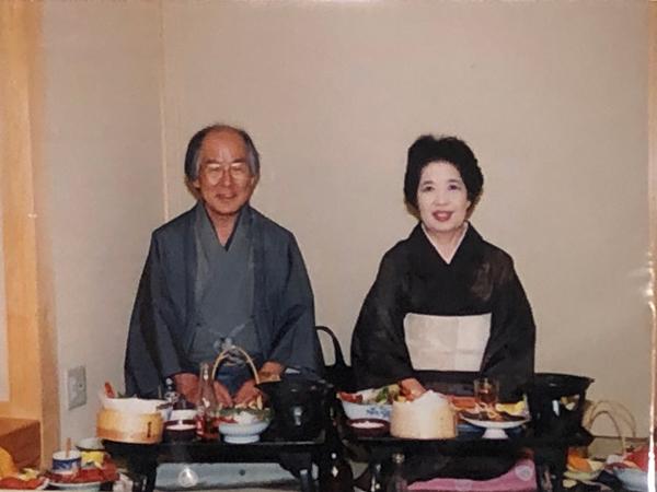 白井夫妻の写真