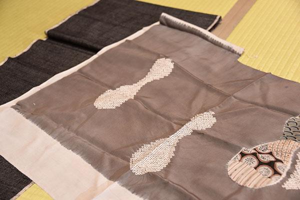 紬のアンサンブルの写真003600ピクセル