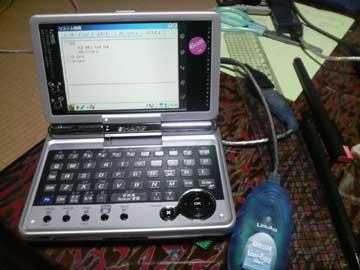 SL-C3200とUSB-ET/TX-S