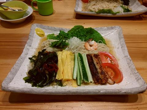 りょう花の冷麺