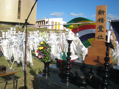 平成29年度丸亀市仏教会灯篭流し