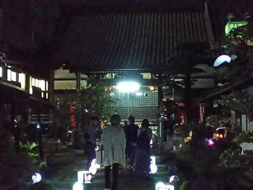 みちあかりプロジェクト2019in妙法寺