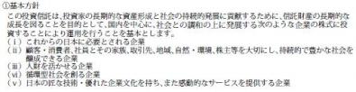 鎌倉投信【結い 2101】基本方針